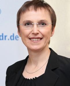 Die neue MDR-Verwaltungsdirektorin Astrid Göbel, Foto: MDR/Andreas Lander