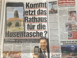 Foto von BILD Dresden vom 3.4.2012, S. 3.