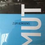 """Cover von """"Mut zum Konsens"""" von Studio Klarheit"""