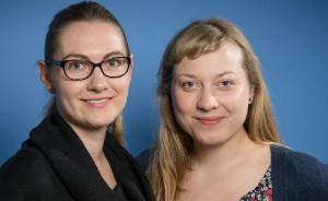 """Die """"Spiesser""""-Chefredakteurinnen Nora Gohlke und Kathrin Sielker"""
