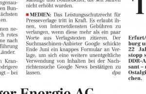 """""""DNN"""" vom 1.8.2013: """"Was sich ab heute für Verbraucher ändert"""""""