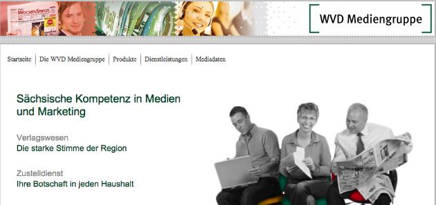 Screenshot von der WVD-Startseite.