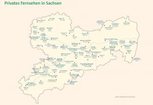 Karte der bestehenden Senderlandschaft mit über 60 Sendern, anzurufen auf slm-online.de (das Bild ist verlinkt).