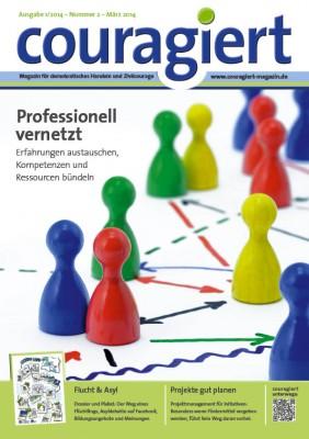 """Cover der zweiten """"couragiert""""-Ausgabe"""