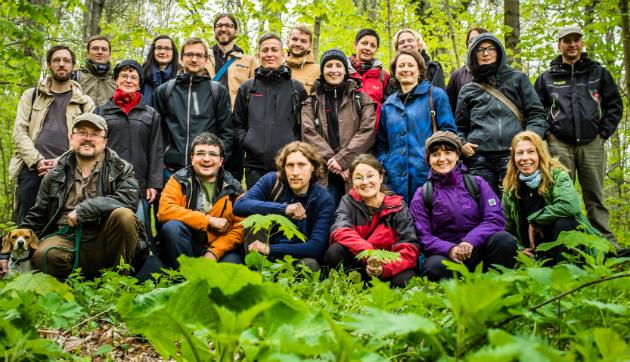Die Wandergesellschaft vom 14.4.2014, Foto: André Wirsig
