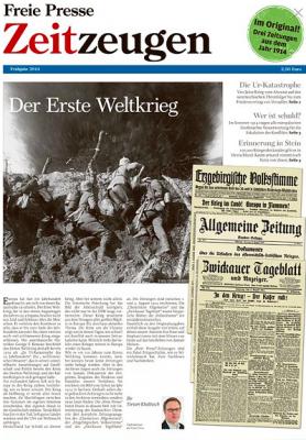 """Titelseite der """"Freien Presse Zeitzeugen""""."""