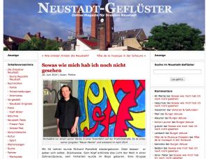 Screenshot Neustadt-Geflüster