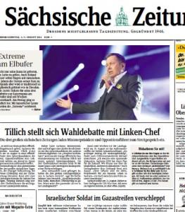 """Ausriss vom """"SZ""""-Cover vom 2.8.2014"""