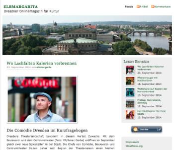 Screenshot von elbmagerita.de, dem Blog von Nicole Czerwinka. Das Bild ist verlinkt.