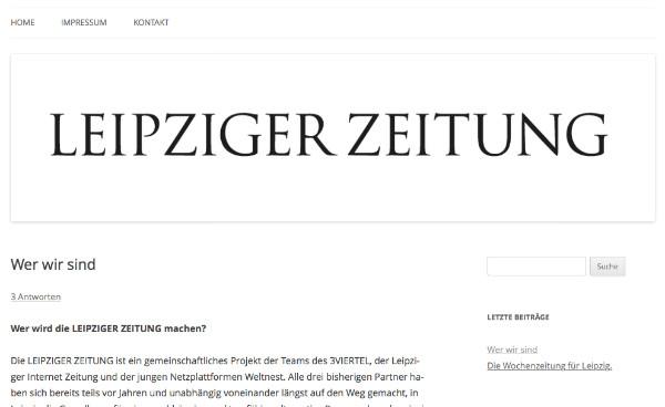 Screenshot von leipzigerzeitung.net.
