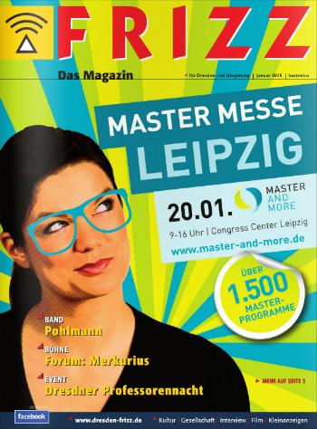 """""""FRIZZ Dresden: Cover der letzten Ausgabe."""