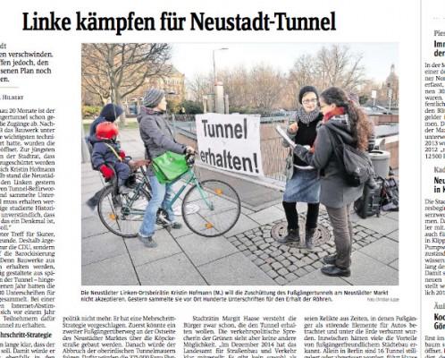 """Aussriss aus der """"Sächsischen Zeitung"""" vom 4.2.2015, Seite 17."""