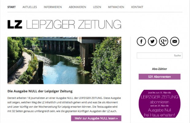 Screenshot von leipzigerzeitung.net. Das Bild ist verlinkt.