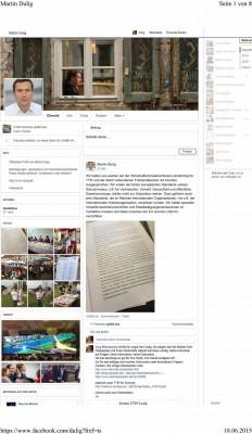 Das Original-FB-Posting von Wirtschaftsminister Martin Dulig.