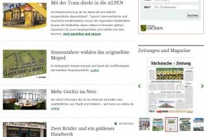 Screenshot: SZ-Online Görlitz