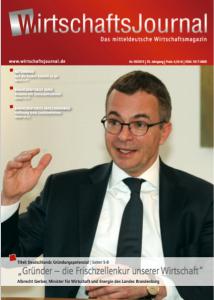 """Titelbild """"Wirtschaftsjournal"""", Ausgabe 05/2015"""