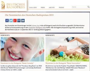 Screenshot von deutscher-radiopreis.de