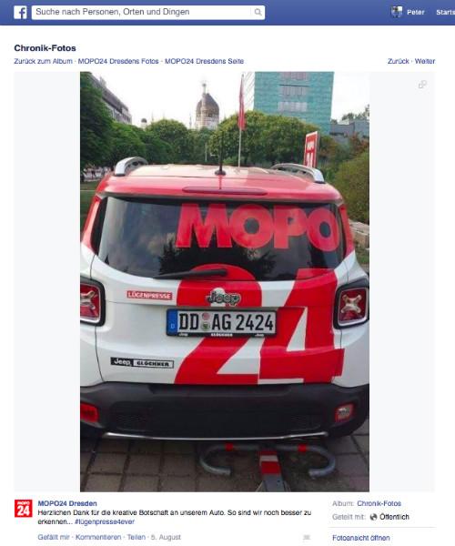 Mopo-Lügenpresse-Facebook
