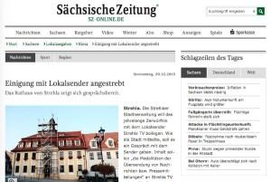 Screenshot von SZ-Riesa, Strehla