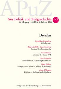"""Titelbild """"Aus Politik und Zeitgeschichte"""""""