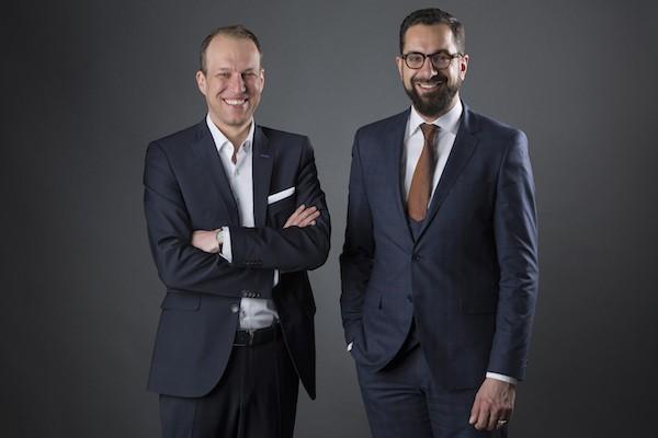 Marko Mädge und Peter Zimmermann (r.), Foto: Westend PR