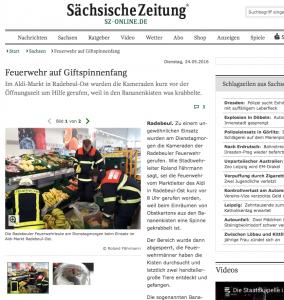 Screenshot sz-online
