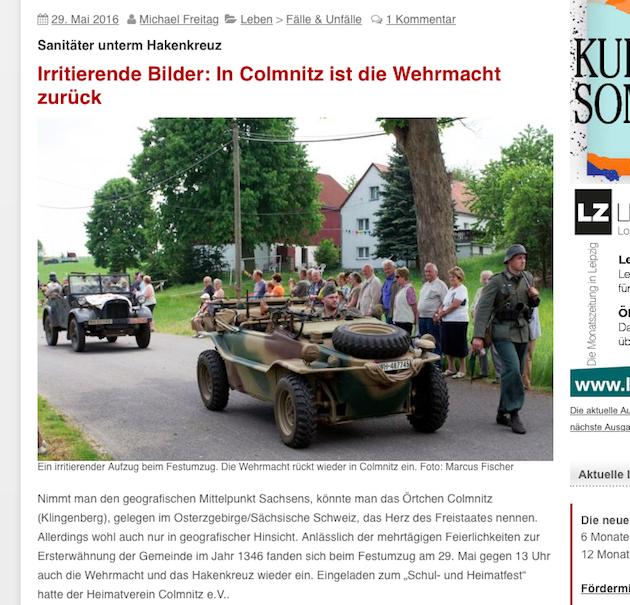 Screenshot Leipziger Internet Zeitung