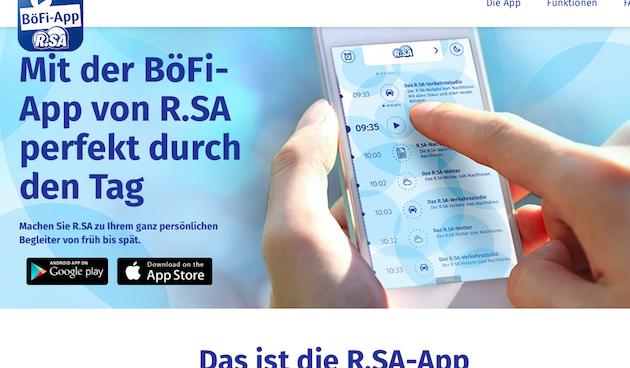 Startseite www.böfi-app.de