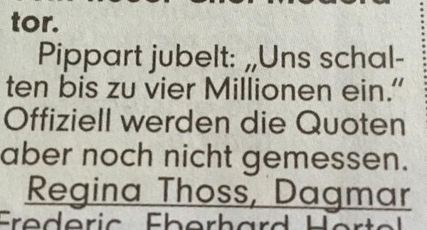 """Ausriss aus der """"BILD Dresden"""" vom 25.7.2016"""