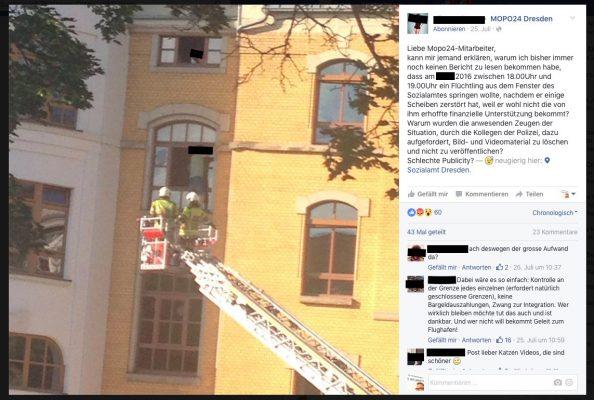Sozialamt-FB-Hassposting