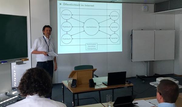 Prof. Christoph Neuberger von der Ludwig Maximilians Universität München