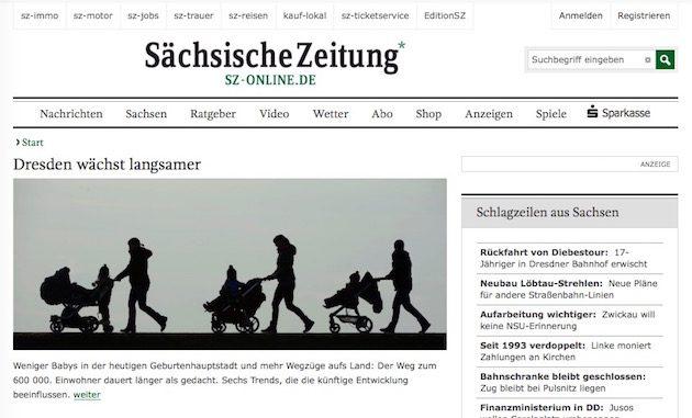 Sieht doch noch eine Weile so aus: SZ-Online.de