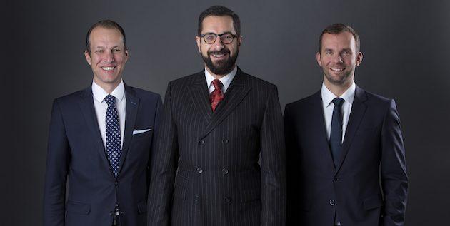 Die Westend-Geschäftsführung (v.l.): Marko Mädge, Peter Zimmermann und Robert Hesse