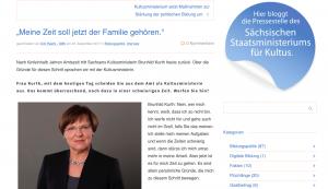 Brunhild Kurth Rücktritt