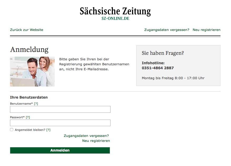 Sz-online.de partnersuche