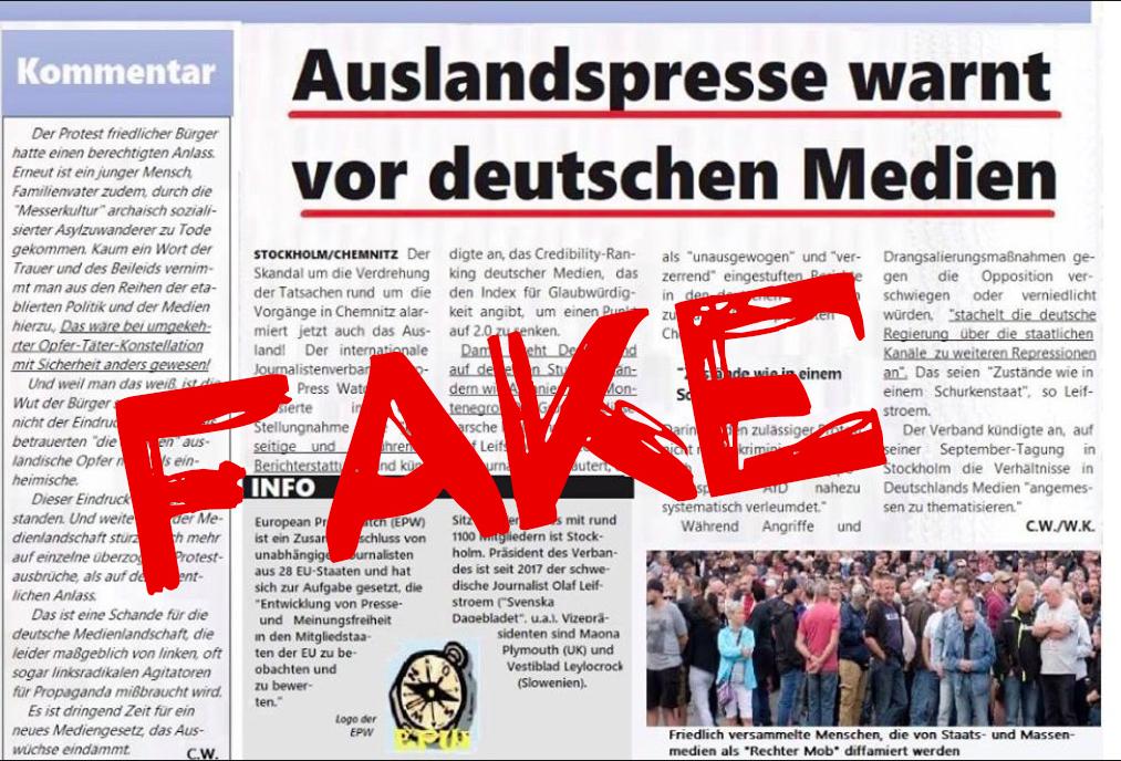 European Press Watch Chemnitz
